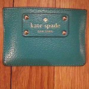 Authentic Kate Spade Card and Money Holder